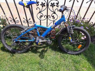 "Bicicleta Btwin infantil 20"" 6 velocidades"
