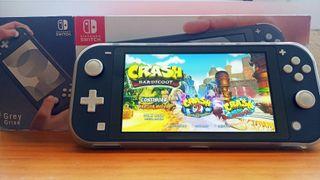 Nintendo Switch Lite ~ Crash Bandicoot instalado