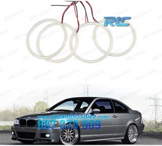 KIT ANGEL EYES LED BMW E46 COUPE / CABRIO RESTYLIN