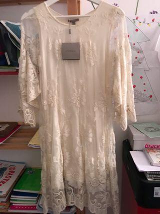 Vestido de novia Uterque