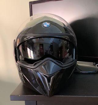 Casco para Moto con visera solar Talla L