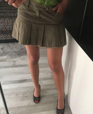Falda militar Zara t.m