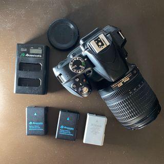 Cámara Nikon D3300 Objetivo 18-105mm y 3 baterías