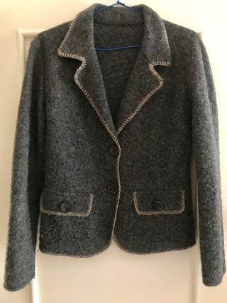 Chaqueta lana mujer