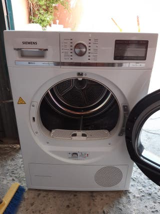 Secadora Siemens 8 kg serie IQ800 self cleaning co