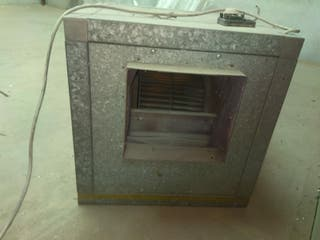 extractor industrial para humos, gases, etc