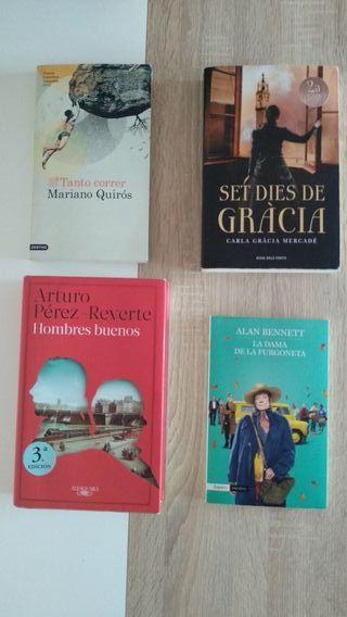 libros novelas varios