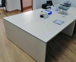 Mesas de oficina (2 unidades)