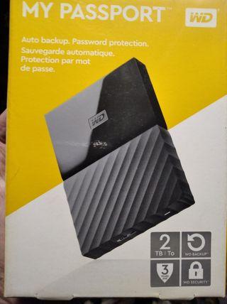 PASSPORT DISCO DURO WD 2 TB 3.0