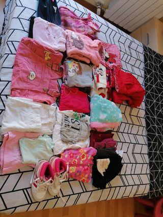 ropa Niña edad de 4 a 7 años