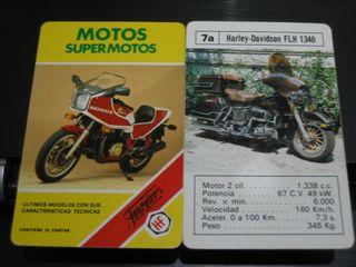 BARAJA DE CARTAS-FOURNIER (MOTOS SUPERMOTOS)