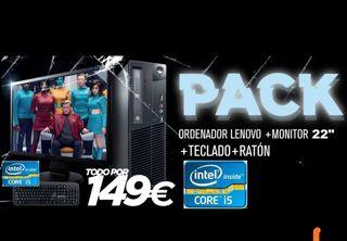 PC sobremesa Lenovo I5