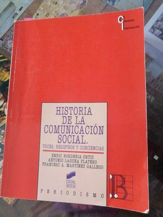 historia de la comunicación social.