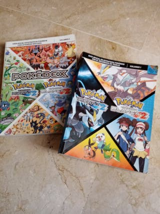 pack Guías vol 1 y 2 pokemon blanco y negro 2
