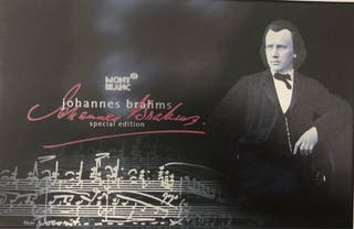Pluma Montblanc edición limitada Johannes Brahms
