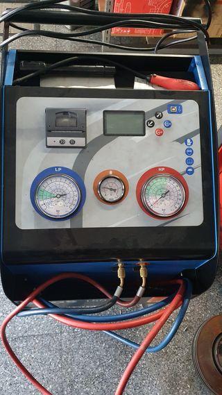 máquina aire acondicionado automoción