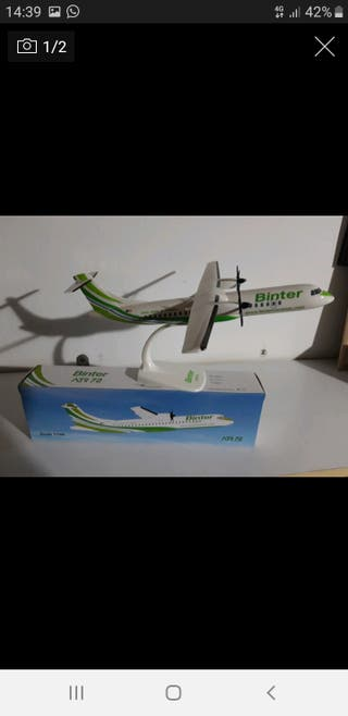 Maqueta Binter ATR72