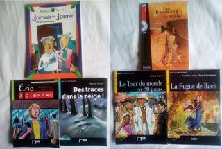 Lote lecturas francés A1-B1 + CDs