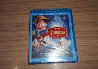 PINOCHO PLATINO BD + BD EXTRAS + DVD PRECINTADO