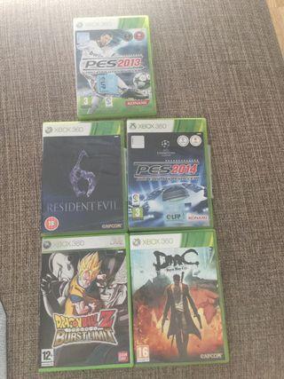 Varios juegos xbox360