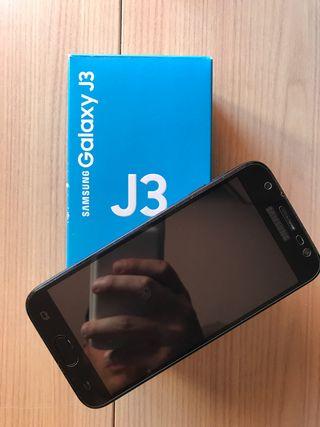 Samsung Galaxy J3 (2017) 16GB + carcasa de regalo