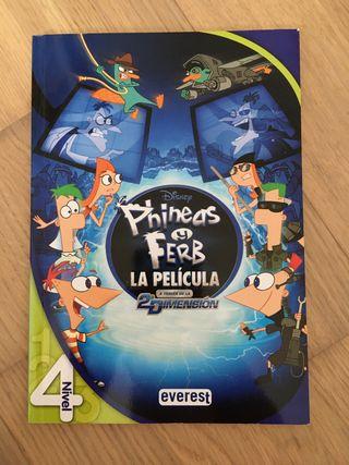 Libro Phineas y Ferb a través de la 2ª dimension