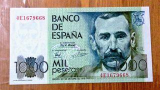 Billete de 1000 pesetas 1979