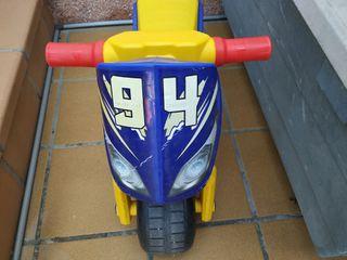 bicicleta y moto