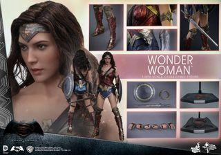 Figura Hot Toys Wonder Woman Batman v Superman