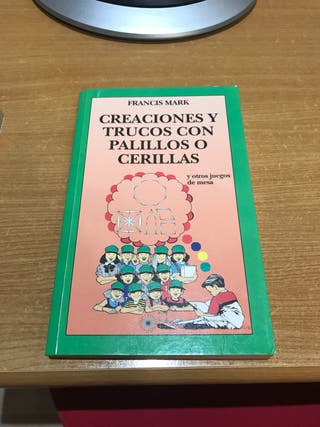 Libro infantil de actividades con palillos