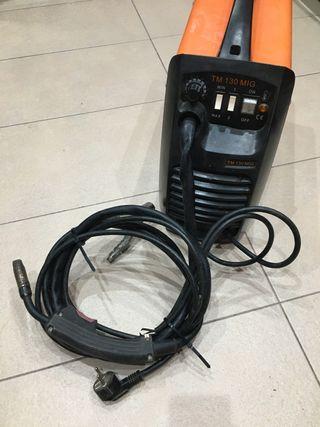 Máquina de soldar TM 130 Mig sin gas