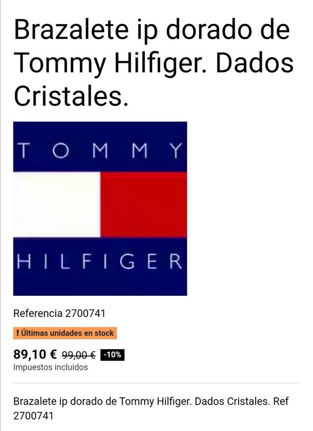 BRAZALETE PULSERA TOMMY HILFIGER MUJER