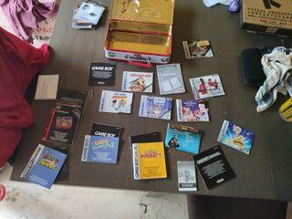 Manuales GameBoy