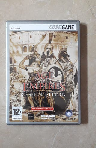 Juego PC Age of Empires Gold Edition