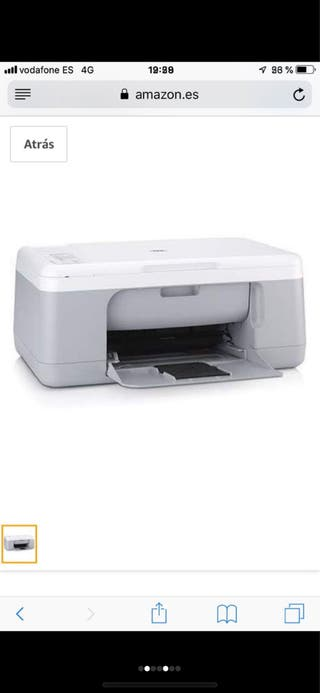 Impresora HP Deskjet F2280 All in One PERFECTA