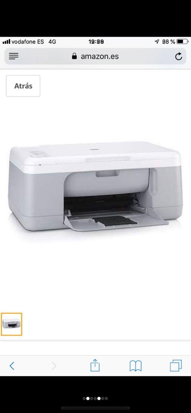 Impresora HP Deskjet F2280 All in One PERFECTA
