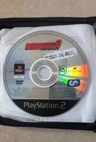 Juego PS2 Burnout 3 Takedown