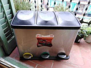 Cubo para reciclar