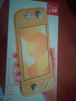 Superpack Nintendo Switch Lite amarilla