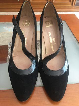 Zapatos salón Paco Rabanne