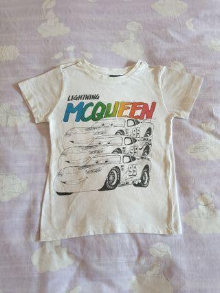 Camiseta Disney Cars talla 3-4 años / 104 cm