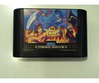 Juego Aladdin Sega Mega Drive
