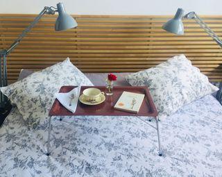 Bandeja plegable cama Platex vintage