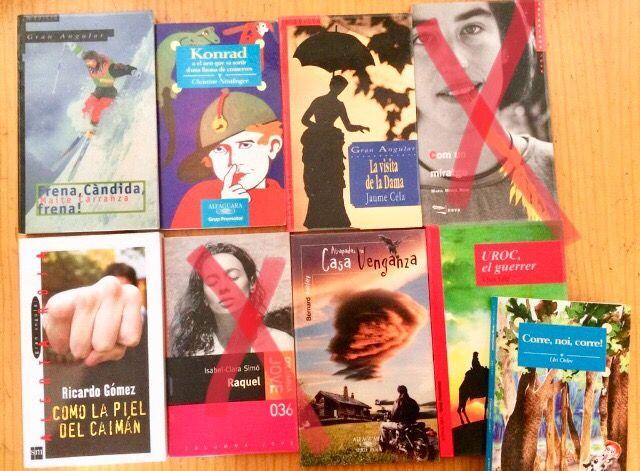 Lote libros lectura (secundaria)