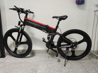 Bicicleta eléctrica plegable Samebike LO26
