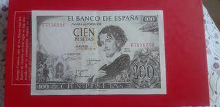 Preciosas 100 pesetas 1965 Bequer