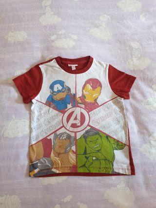 Camiseta niño Marvel talla 3-4 años / 104 cm