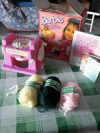 tricotadora de la muñeca Barbie