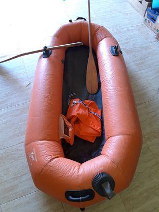 Barca hinchable (para reparar)