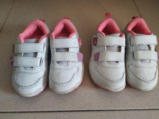 Zapatillas deportivas N. 24 gemelas